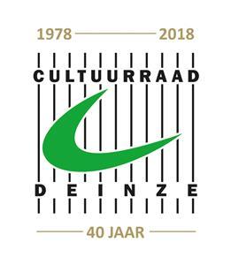 Logo Cultuurraad 40 jaar