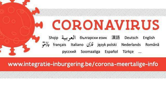 corona meertalige info