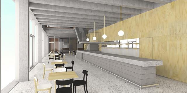 HR-simulatie cafe CC Leietheater - klein